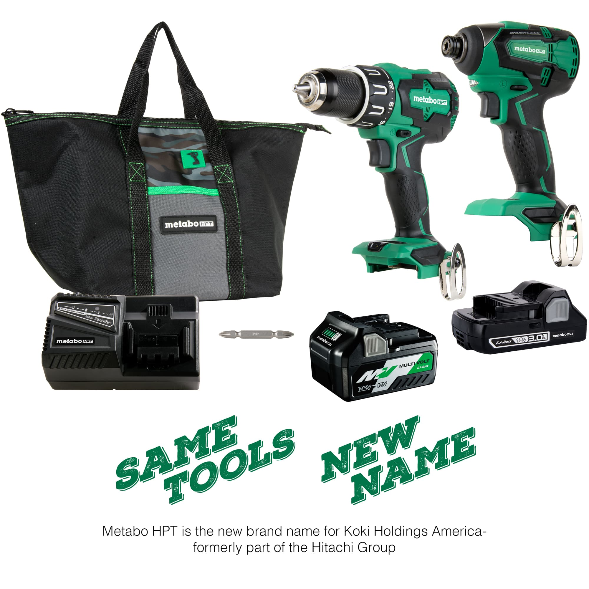 Hammer Drill and Impact Driver KIT
