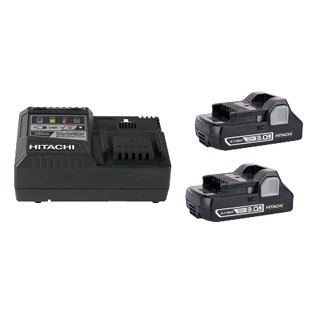 18V Li-ion battery and charger kit web image
