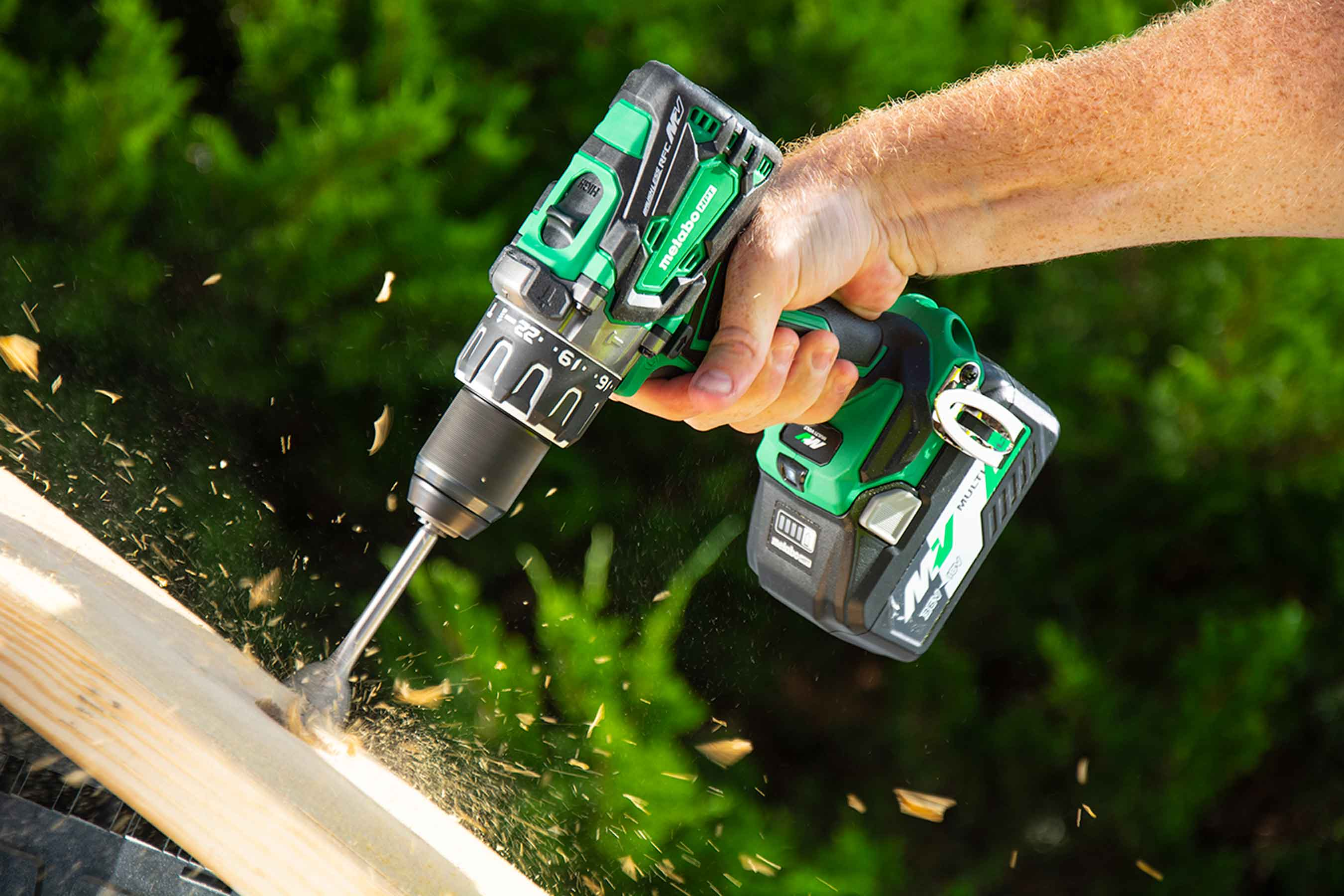 Multivolt Hammer Drill ACTION 1