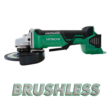 Hitachi G18DBALP4 18V Brushless Lithium Ion 4-1/2' Angle Grinder (Tool Body Only) Image