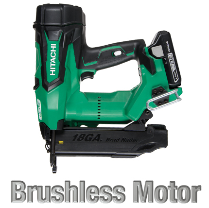 NT1850DE 2' 18V Brushless Lithium Ion 18Ga Brad Nailer image