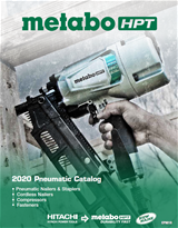 Metabo HPT Pneumatic Catalog Thumbnail