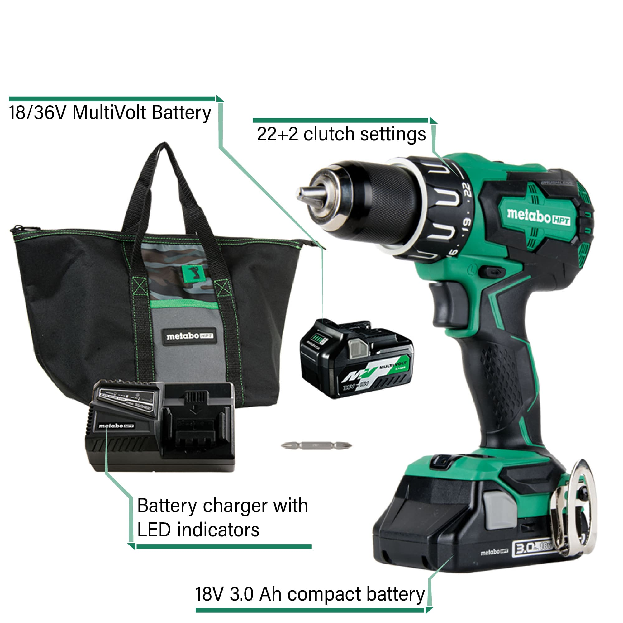 T Series Hammer Drill Kit