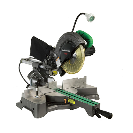 "Metabo HPT 8-1/2"" Sliding Compound Miter Saw with Laser Marker and LED Light"