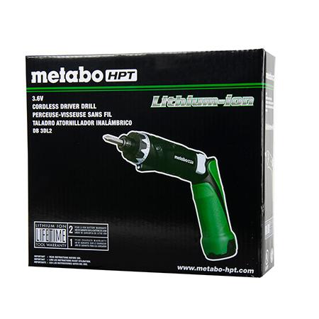 Metabo HPT 3.6V Lithium Ion Screwdriver