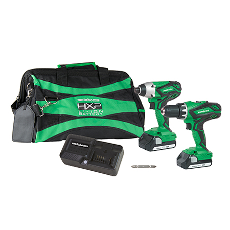 Metabo HPT 18V Lithium Ion Hammer Drill & Impact Driver Combo Kit