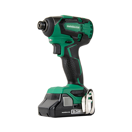 Metabo HPT 18V Lithium Ion Brushless Impact Driver with 1 Battery
