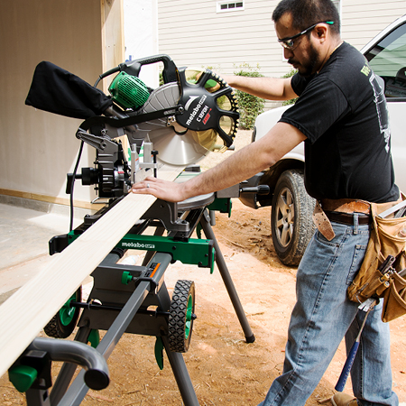 Metabo HPT Dual Compound Miter Saw with Laser Marker 12 inch