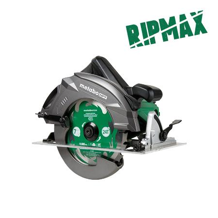 """Metabo HPT 15 Amp Pro Circular Saw 7-1/4 inch """"RIPMAX"""""""