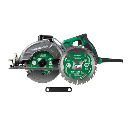 Metabo HPT 15 Amp Worm Drive Circular Saw 7-1/4 inch