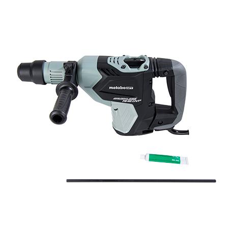 "Metabo HPT 1-9/16"" AC Brushless, AHB Aluminum Housing Body, UVP User Vibration Protection, AC/DC SDS Max Rotary Hammer"