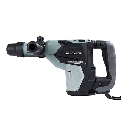 "Metabo HPT 1-9/16"" AC Brushless, AHB Aluminum Housing Body, UVP User Vibration Protection, AC/DC SDS Max Rotary Hammer"