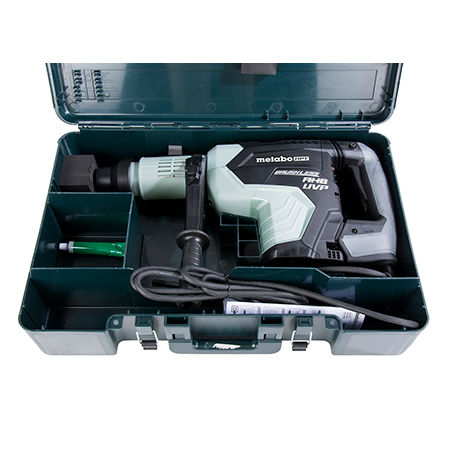 "Metabo HPT 1-3/4"" AC Brushless, AHB Aluminum Housing Body, UVP User Vibration Protection, AC/DC SDS Max Rotary Hammer"