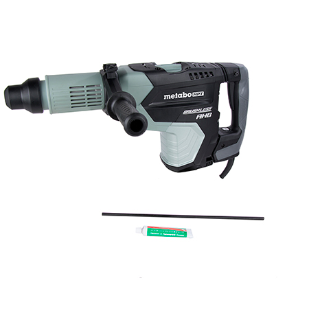"Metabo HPT 2-1/16"" AC Brushless, AHB Aluminum Housing Body, AC/DC SDS Max Rotary Hammer"