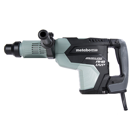 "Metabo HPT 2-1/16"" AC Brushless, AHB Aluminum Housing Body, UVP User Vibration Protection, AC/DC SDS Max Rotary Hammer"