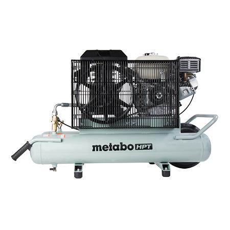 Metabo HPT 8-Gallon Gas Powered Wheelbarrow Air Compressor