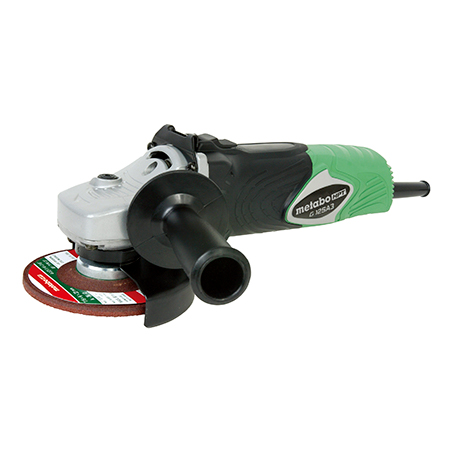 Metabo HPT 8-Amp, AC/DC, 4-1/2 inch Top Switch Angle Grinder