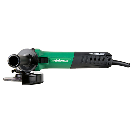 Metabo HPT 12-Amp, AC Brushless 4-1/2 inch Variable Speed Angle Grinder