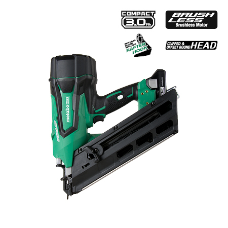 Metabo HPT 3-1/2 inch 18V Lithium Ion Paper Strip Framing Nailer