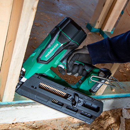 Metabo HPT 3-1/2 inch 18V Lithium Ion Plastic Strip Framing Nailer