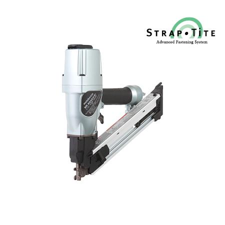"Metabo HPT 2-1/2"" Strap-Tite Fastening System Strip Nailer with Short Magazine"