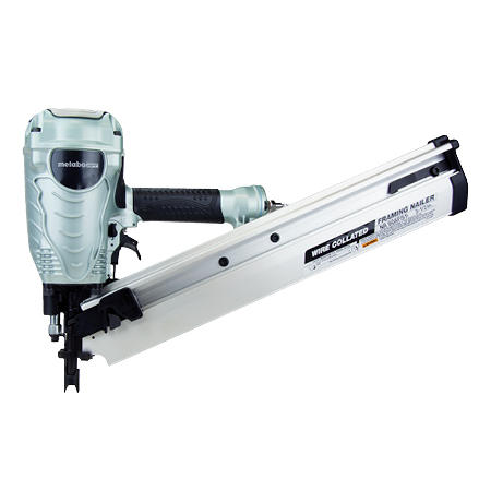 "Metabo HPT 3-1/2"" Wire Weld Collated Framing Nailer"