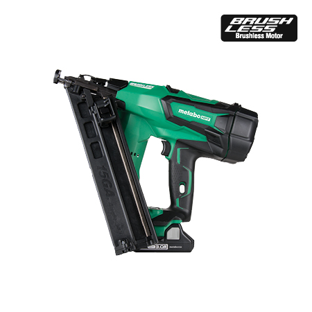 Metabo HPT 2-1/2 inch 18V Lithium Ion 15-gauge Angled Finish Nailer