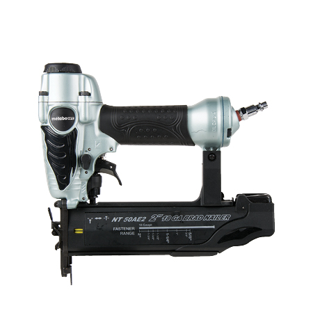 2-inch 18 gauge brad nailer model NT50AE2 Metabo HPT SIDE image