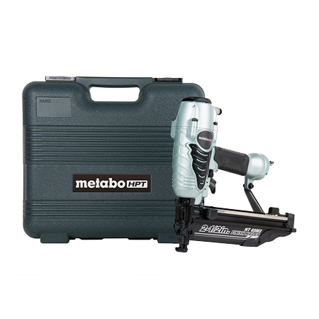 Metabo HPT 2-1/2 inch 16-gauge Finish Nailer with Air Duster