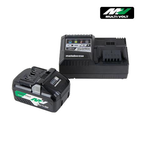Metabo HPT 18-Volt Lithium Ion Batteries / Charger Kit