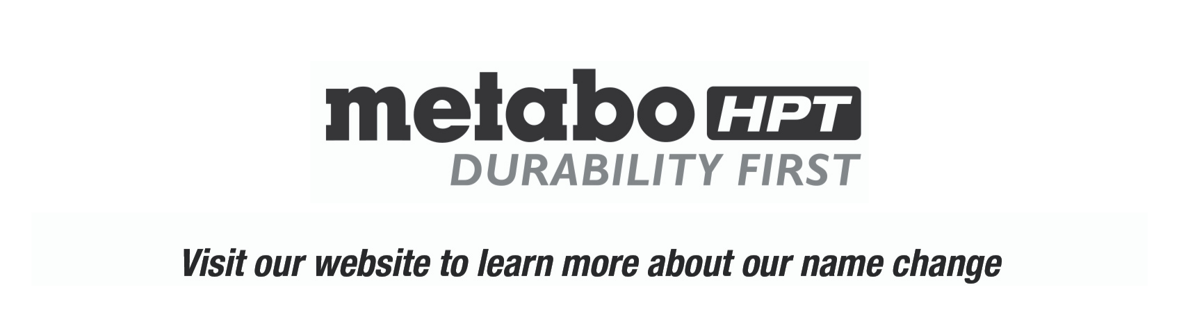 Metabo HPT Sticker Mock up_Durability