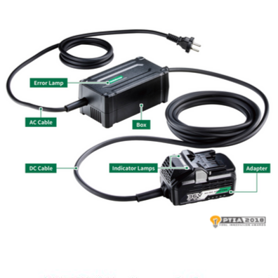 MultiVolt Ac Adapter with Hitachi and Metabo HPT Logo