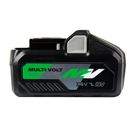 36V/18V MultiVolt Lithium Ion Slide Battery BSL36B18 side image