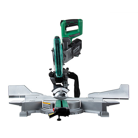 "Metabo HPT 36V MultiVolt Brushless 10"" Dual Bevel Sliding Miter Saw C3610DAQ4_STRAIGHT image"