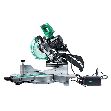 "36V MultiVolt Brushless 10"" Dual Bevel Sliding Miter Saw with MultiVolt AC Adapter model C3610DRA_KIT image"