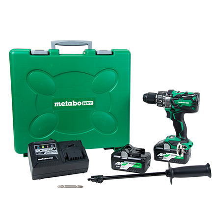 36V MultiVolt Brushless 1/2-in Hammer Drill Kit Image DV36DA