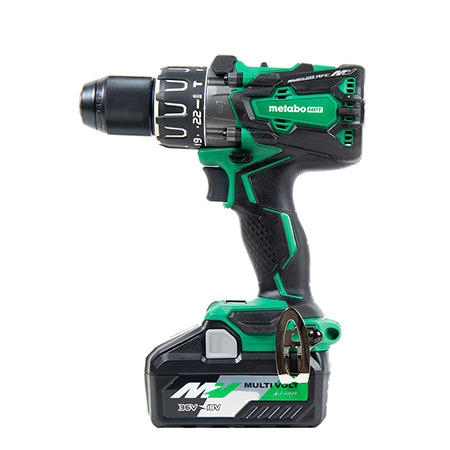 36V MultiVolt Brushless 1/2-in Hammer Drill Side Image DV36DA
