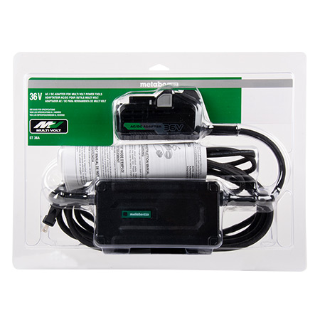 Metabo HPT 36V MultiVolt AC Adapter in package