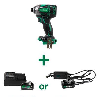 Triple Hammer Impact Driver with Ac adapter or battery