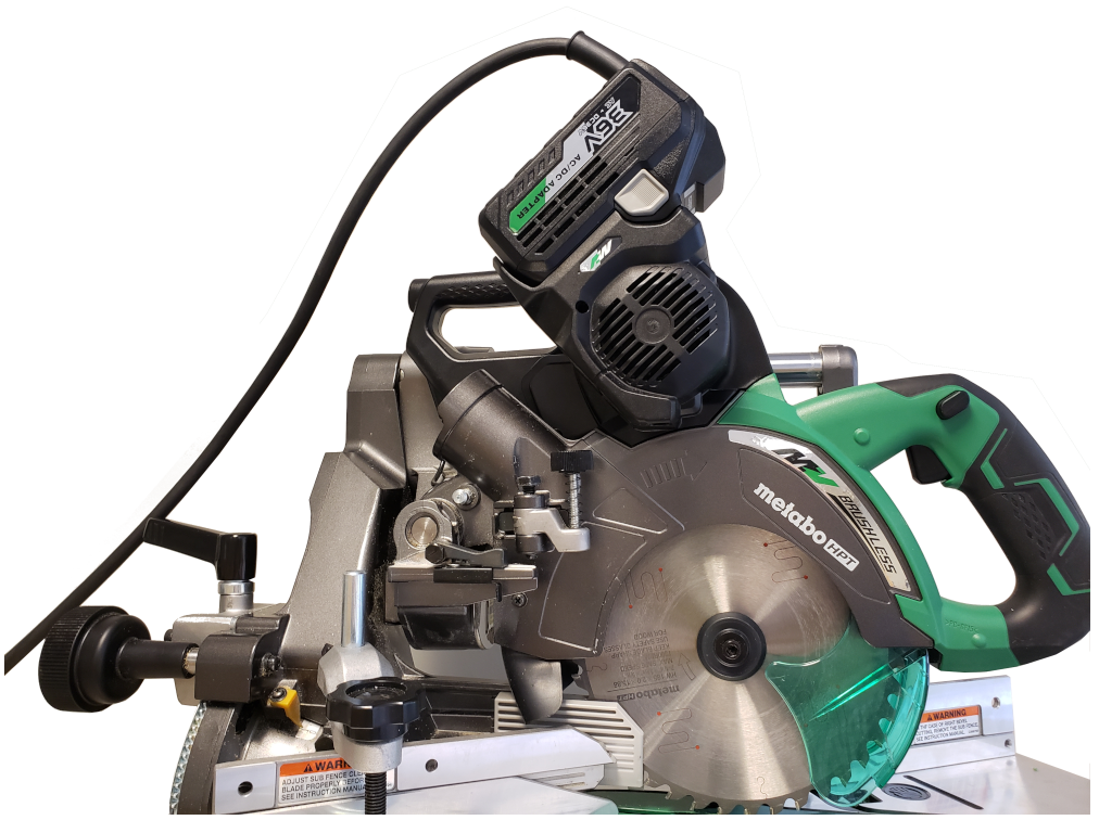 7-1/4 Miter Saw with AC adapter