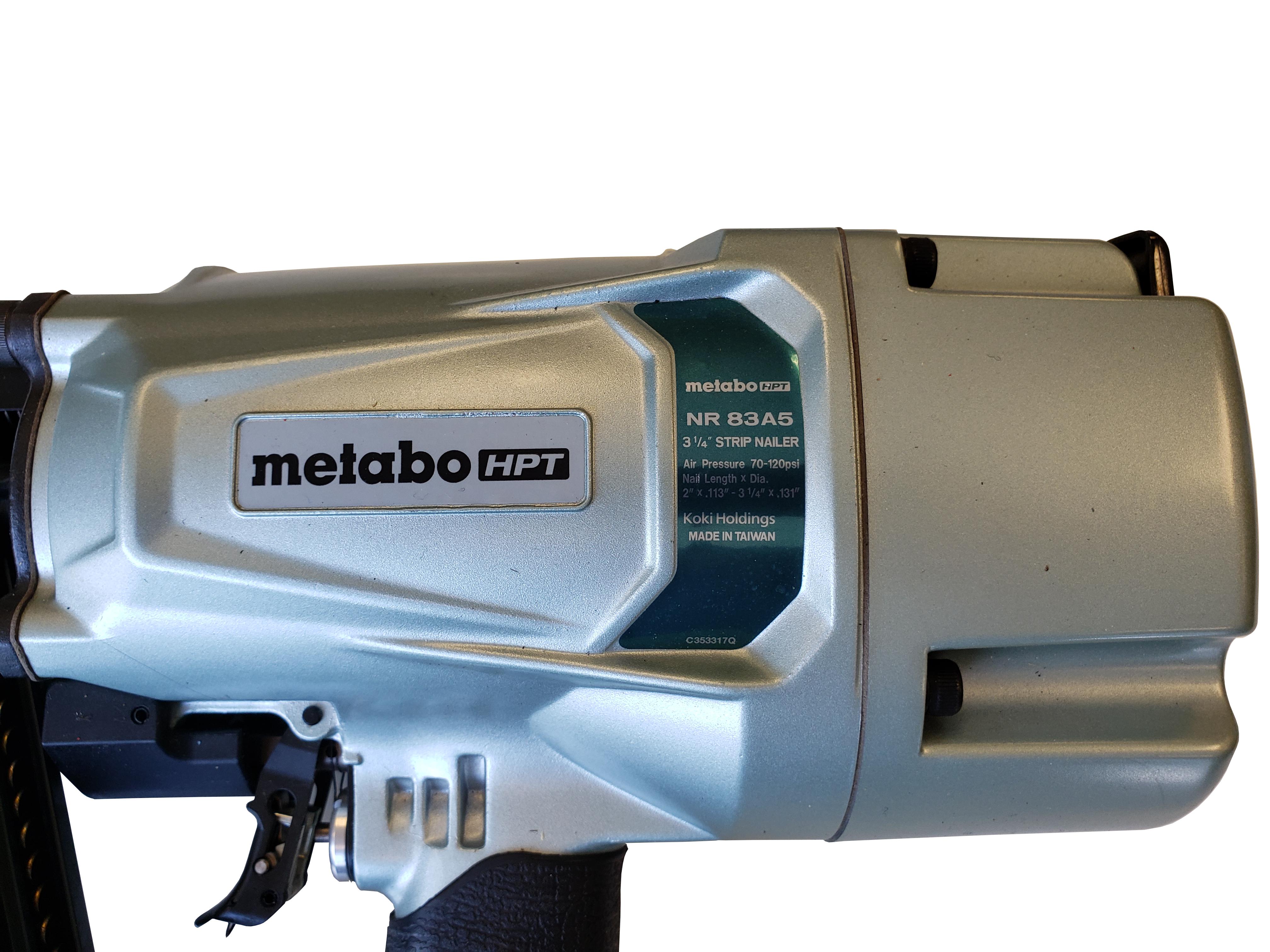 Metabo HPT NR83A5 Framing Nailer Detail 1