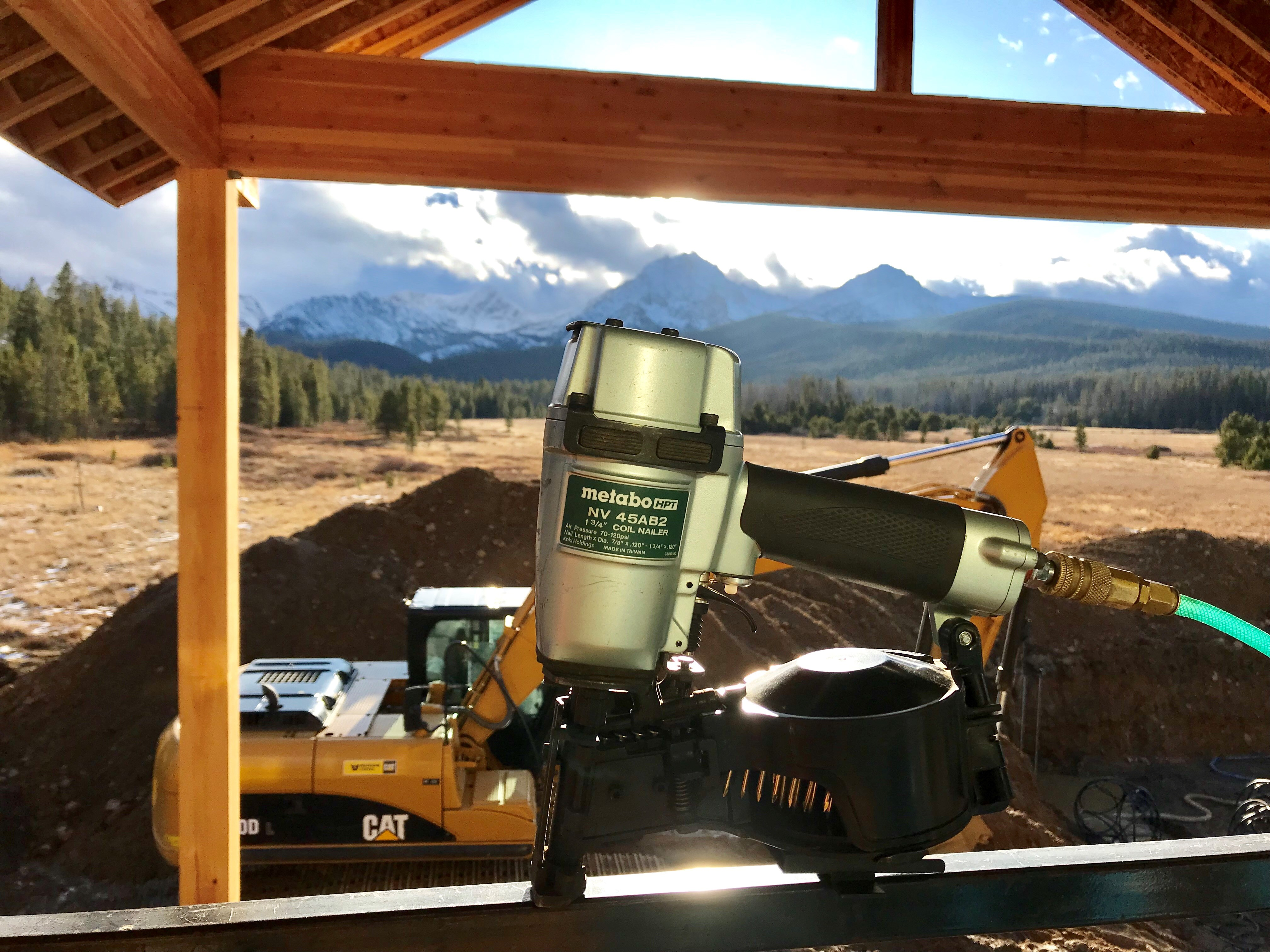 NV45AB2 roofing nailer Lifestyle
