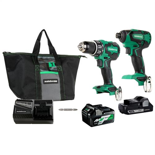 Impact Driver and Hammer Drill Kit