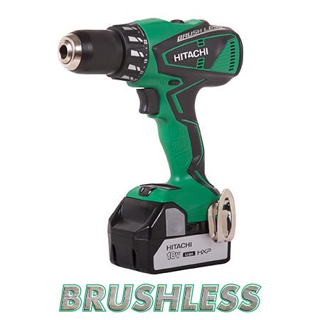 hitachi air tools. dv18dbfl 18v lithium ion brushless hammer drill (3.0ah)- discontinued hitachi air tools