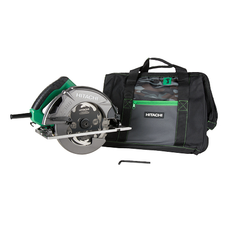 hitachi C7SB3 circular saw with carrying bag