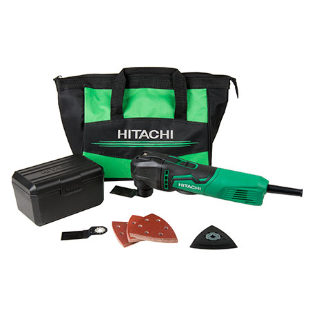 Hitachi 3.5-Amp Oscillating Multi Tool Kit CV350V images