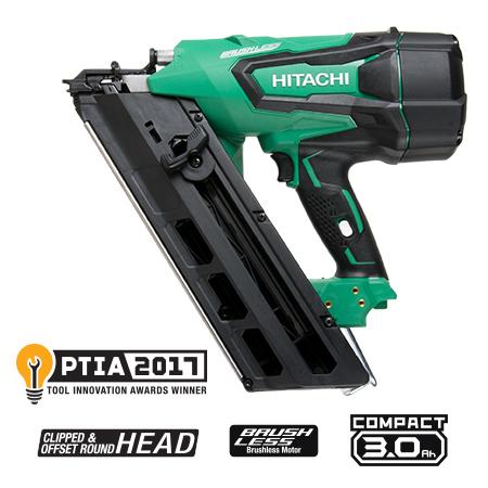 hitachi power tools. nr1890dc 3-1/2\ hitachi power tools d