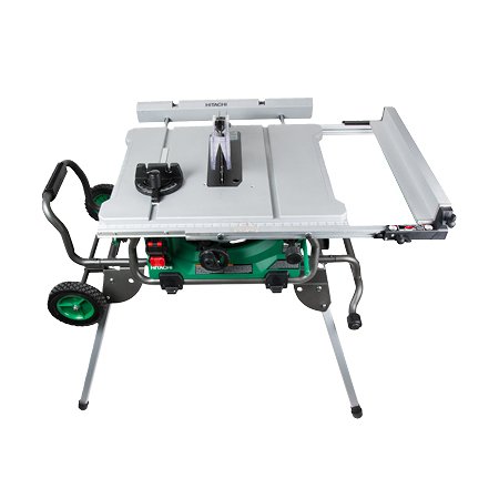 C10rj 10 jobsite table saw w fold roll stand greentooth Images