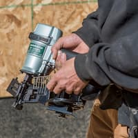 Metabo HPT Roofing Nailer Lifestyle